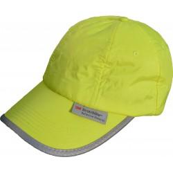 Casquette CAP jaune fluo