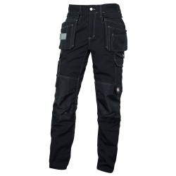 Pantalon Multipoches Panblack