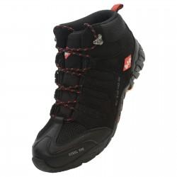 Chaussues hautes de sécurité Noire/Rouge