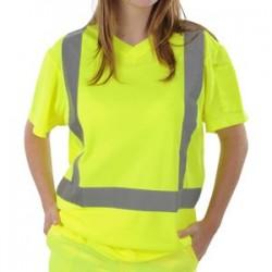 Tee-shirt TOKAY jaune fluo