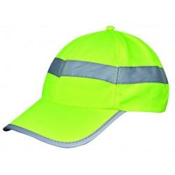 Casquette CAP orange fluo