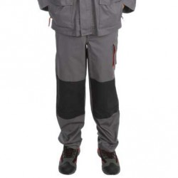 Pantalon PLATINE Gris/noir/orange